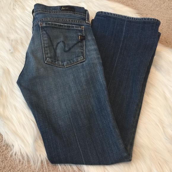 Citizens Of Humanity Denim - Citizens of Humanity Low Waist Flare Jeans size 27